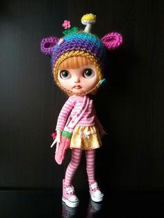 Blythe Doll, Hat by My Beautiful Blythe