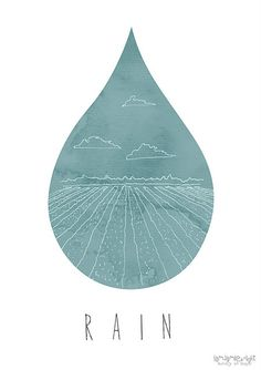 "illustration ""Rain"" - Jamie Knight (New Zealand)"