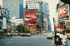 Times Square 7th Avenue at West 46th Street