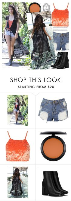 """Tulle and Batiste"" by gaby-mil ❤ liked on Polyvore featuring Nasty Gal, MAC Cosmetics and vintage"