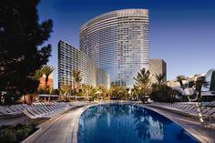 ARIA Resort & Casino $200 + $36. On the strip, 1 mile south of Caesars Palace.