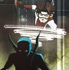 Blue Beetle and Impulse ~ Young Justice best friendship ever