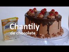 Como fazer chantily de chocolate - YouTube