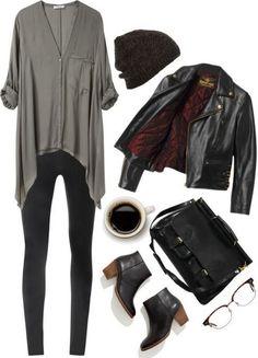 fashion fall urban street look fashion style Edgy Style, Mode Style, Street Style Edgy, Edgy Look, Grunge Style, Fall Winter Outfits, Autumn Winter Fashion, Winter Chic, Summer Outfits