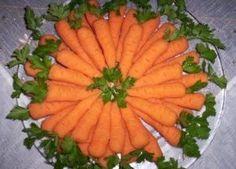 Havuç Şeklinde Patates Salatası