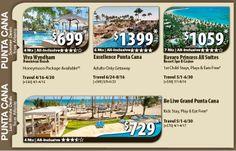Punta Cana Vacation Specials with Air from Atlanta