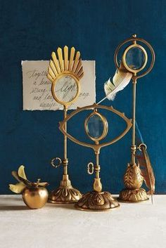 Flashback to 2014 Anthropologie EU Hand-Cast Magnifying Glass