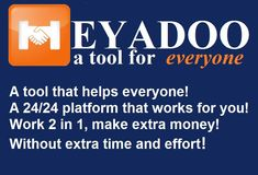 Heyadoo - A tool for everyone For Everyone, Extra Money, Marketing, Saving Money, It Works, How To Make Money, Tools, Gen, Airport Hotel