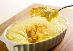Uma das melhores combinações já criadas, o frango com creme de milho é sucesso garantido! #receita #frango #delicinha