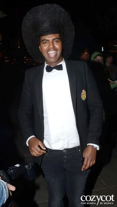 Prince Cassius, at the Risque Business launch party of Emilio Cavallini, with his T4L Custom Tailored Shirt. http://www.princecassius.com/ — en London UK.