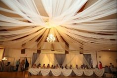 Creative Events  Chandelier & Draping