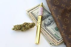 Kush Queens by The Crystal Cult | TheCrystalCult.com | Swarovski crystal Cannabis Vaporizer