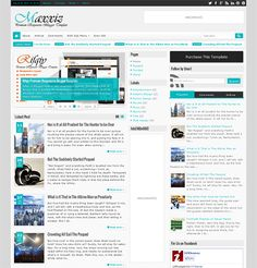 This news and magazine Blogger template has 3 layout options, a responsive design, Ajax page navigation, a responsive slideshow, JSON search results, RTL language support, 3 comment systems, mega menu support, unlimited colors, and more.