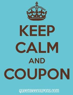KEEP CALM AND COUPON