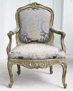Italian Rococo Genoese Fauteuil image 2