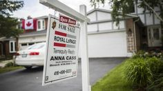 Toronto's falling house prices signal a return to sanity