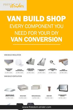 Van Build Insulation Shop Van Build Insulation Shop Freedom Strider Alternat…, … – World Tour With Van Rigid Insulation, Insulation Board, Types Of Insulation, Best Insulation, Van Conversion Insulation, Diy Van Conversions, Ford Transit Conversion, Recycle Bubble Wrap, Space Words