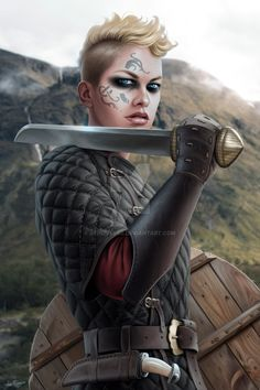 Shieldmaiden by JFoliveras