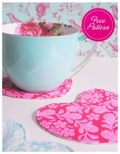 Free teacup coasters pattern