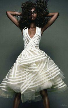 Love this unique short wedding dress