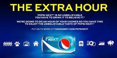 Pepsi NEXT 25th hour via TaskRabbit