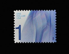 Waves of Color (high-denomination postage stamps) Antonio...
