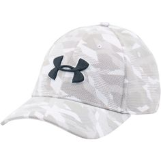 0deee37b78a Under Armour Men s Printed Blitzing Stretch Fit Hat