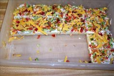 Vegetable Bars. Photo by Moe! Larry! Cheese!