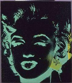 Marilyn Reversal - Andy Warhol