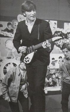 """John Lennon (and The Beatles) TV show """"Ready Steady Go!"""""""