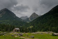 Small House Nestled in the Pyrenees Mountains in Vall de Boi, Spain - will you share? Places To Travel, Places To See, Romanesque, Stunning View, World Heritage Sites, Traveling By Yourself, Spanish, Beautiful Places, Mountains