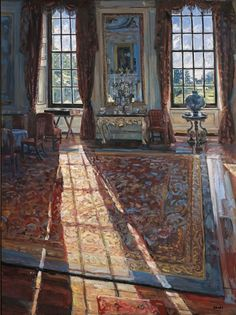 Chatsworth - Sunlit Grand Room by Hector McDonnell