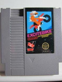 Excitebike GAME FOR THE Nintendo NES