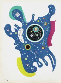 Etoiles by Wassily Kandinsky (1938)
