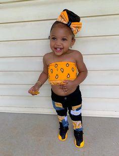 Cute Mixed Babies, Cute Black Babies, Black Baby Girls, Cute Little Baby, Pretty Baby, Cute Baby Girl, Cute Little Girls Outfits, Cute Swag Outfits, Kids Outfits Girls