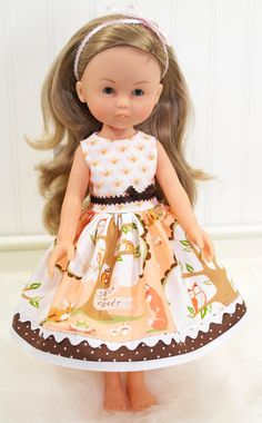 Corolle Les Cheries Doll Clothes Dress Heart for Heart