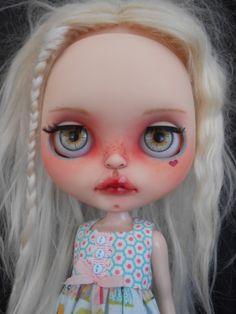 Custom RBL Blythe Doll Face Plates por Spookykidsworkshop en Etsy