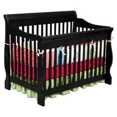 Reasonably priced crib, comes in black and converts to toddler bed, day bed, and full sized bed... Maximum weight capacity 35lbs?? $244.59