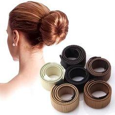Magic Bun Maker French Twist Hair, Donut Bun Hairstyles, Twist Hairstyles, Fancy Hairstyles, Updo Hairstyle, African Hairstyles, Curly Hairstyles, Wedding Hairstyles, Funny Kids
