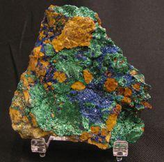 Mineral Specimen  Malachite Azurite  by NearEarthExploration, $20.00