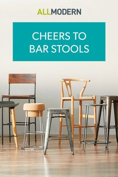 The right barstool is essential if you want to use your high tabletops in comfort and style. Whether you're looking for a swivel or stationary, pedestal or tripod, high supportive back or chic backless design, AllModern has the perfect barstool to suit your modern style. Sign up at AllModern to explore our selection and sign up for exclusive access to deals for your modern home. Free shipping on orders over $49!