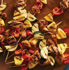 A bacon rub? You bet. You've got to try Chicken Kabobs with Spiced Bacon Rub to believe it.