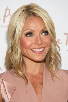 Kelly Ripa - celebrity hairstyles