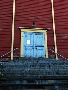 The church door. Gates, Garage Doors, World, Outdoor Decor, Travel, Home Decor, Finland, Viajes, Decoration Home