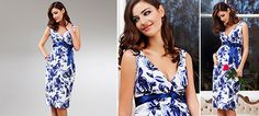 Riviera Kleid aus der Kategorie Festliche Umstandsmode von Mamarella - Details