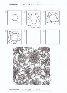 That's Then It by Lizzie Mayne - zentangle