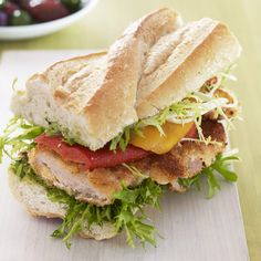 I need to read this recipe:  Provençal Pork Sandwich