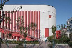 School Floor Plan, School Building Design, Bpd, School Architecture, Three Dimensional, Floor Plans, Layout, Urban, Landscape
