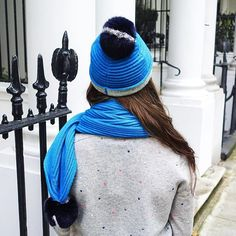 Chic and cozy in our Sara scarves and hats #LKBennett