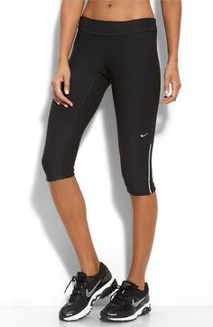 Nike 'Filament' Capris |The best pants for running! I love them. They are so comfy and have a convenient pocket in the back.